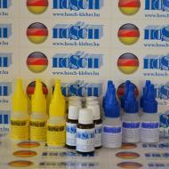 7 készlet HOSCH-KLEBER IPARI RAGASZTÓ ÉS GRANULÁTUM 40 grammos ragasztókészlet 15 ml ajándék felület kezelővel
