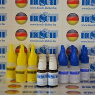 8 készlet HOSCH-KLEBER IPARI RAGASZTÓ ÉS GRANULÁTUM 40 grammos ragasztókészlet 15 ml ajándék felület kezelővel