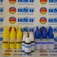 9 készlet HOSCH-KLEBER IPARI RAGASZTÓ ÉS GRANULÁTUM 40 grammos ragasztókészlet 15 ml ajándék felület kezelővel