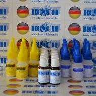 10 készlet HOSCH-KLEBER IPARI RAGASZTÓ ÉS GRANULÁTUM 40 grammos ragasztókészlet 15 ml ajándék felület kezelővel
